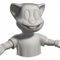 Louny Parc | Wireframe mascotte